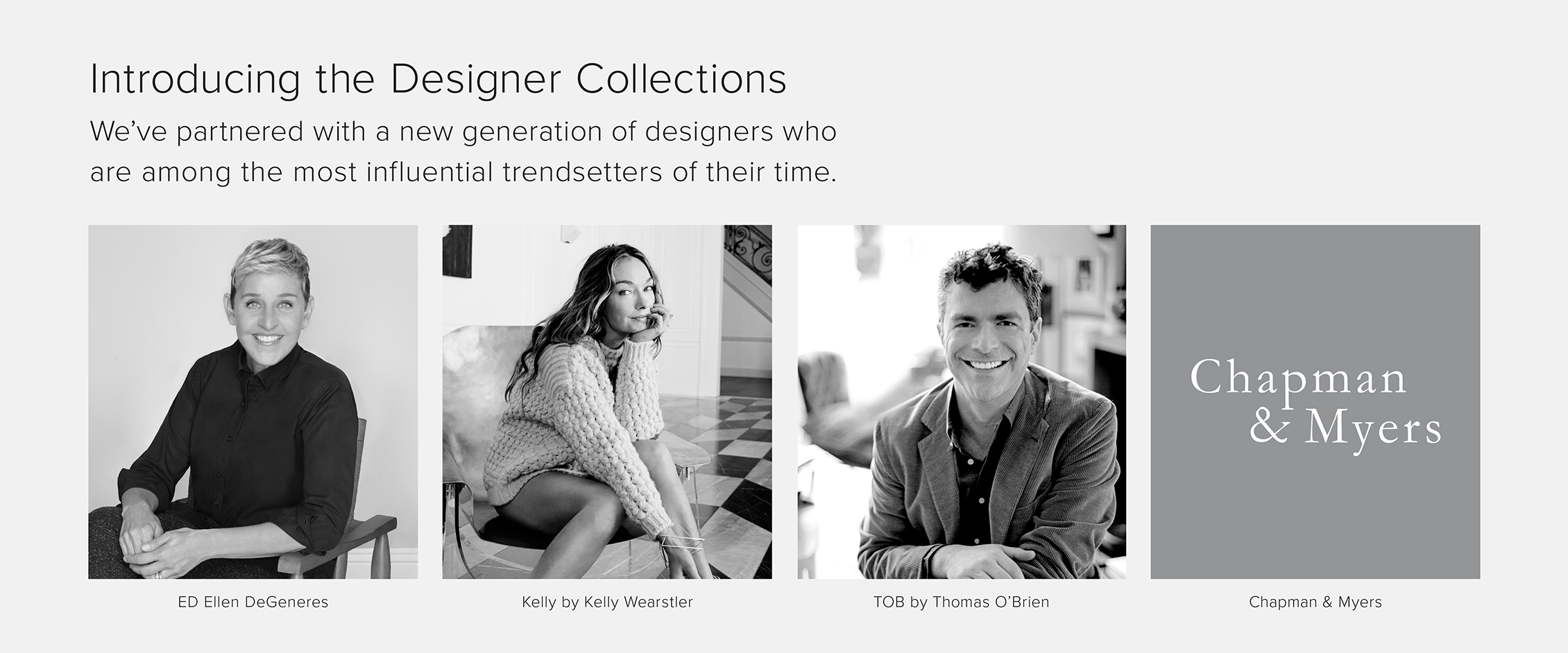 Introducing the Designer Collections by Generation Lighting