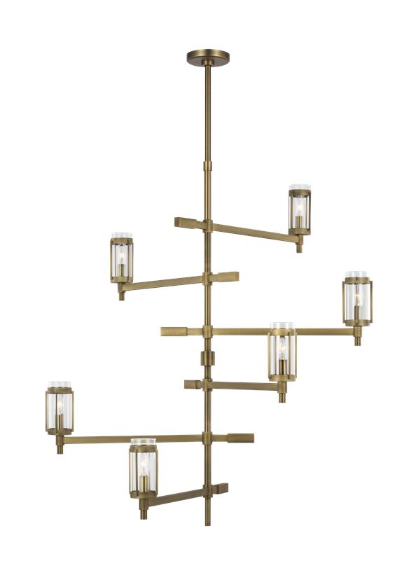 Flynn Tall Chandelier