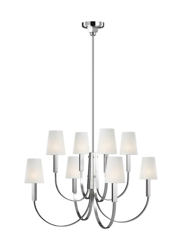 Logan Large Two-Tier Chandelier