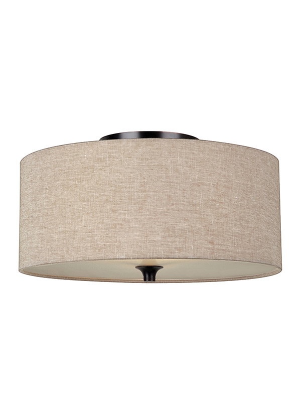 Stirling Two Light Flush Mount