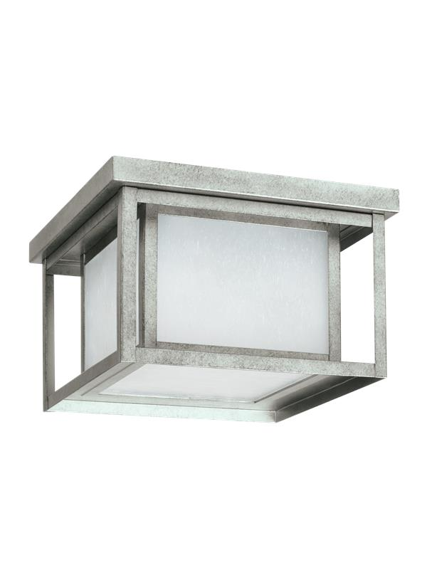 Hunnington Two Light Outdoor Flush Mount