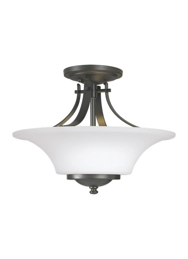 Barrington Two Light Semi-Flush Mount